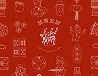 Various brands's in Chinese New Year Edition