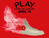Converse x Comme des Garçons Social Advertising