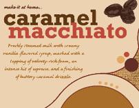 Caramel Macchiato Poster Design