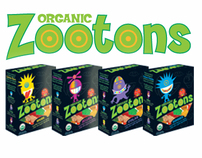 Zootons Identity, Packaging, Character Ilustration