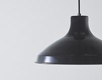 """ovject"" Enameled Lamp[35cm]"
