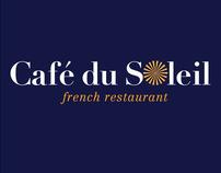 Cafe du Soleil Identity System