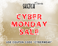 Sketch Themes: Thanksgiving & Cyber Monday SALE