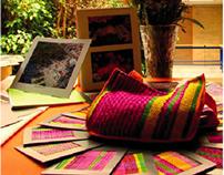 Diseño de un Souvenir, con el tema Mercado de Jamaica.