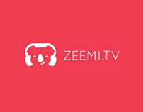 Redesign ZEEMI.TV (concept)