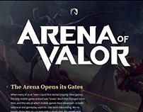 UI/UX: Arena of Valor