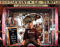 La grande assiette corse (Restaurant Le Temple - Paris)