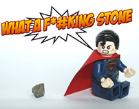 SUPERMAN vs STONE