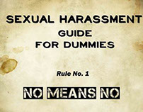 Poster on Sexual Harassment