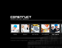 Construct Construction Agency HTML5 Template 300111628