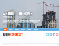 Build & Construct - Building Company HTML5 Template