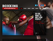 Box King New York Boxing Gym & Club HTML5 Template