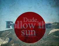 Mixtapecover - Dude, follow the sun