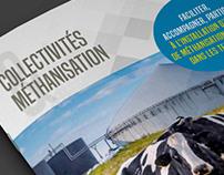 """BROCHURE """"Collectivités & Méthanisation"""" A5 - 28 pages"""