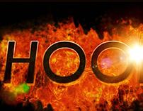 Hood | 3D Typography