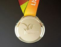 Medal for the 2nd Lusophone Games