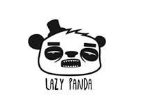 Lazy Panda drawings