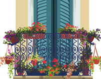 Balcony / Flower Designs