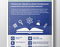 Cartaz - História das Ciências no Ensino Fundamental