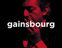 GAINSBOURG / Édition & Graphisme