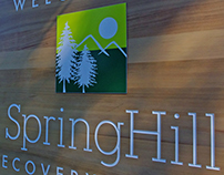 Spring Hill Recovery Center Signage