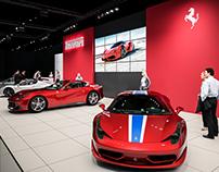 Ferrari @ Brussels Motor Show 2016