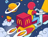 McDonalds 25 Years Anniversary