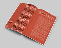"""Matéria """"Helvética"""" - Diagramação de revista"""