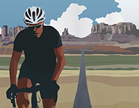 Race Across America 2015 Poster