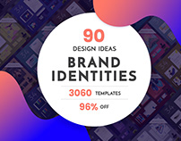 90 in 1 Branding Design Templates Bundle