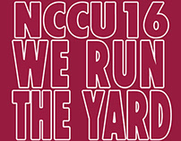 NCCU Class of '16 Shirt Design