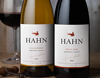Hahn Family Estate Wine Packaging & Logo Design