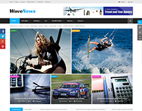 SJ WaveNews - Responsive New/Magazine Joomla Template