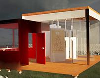 Red glass studio