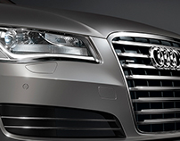 Audi A8 Closeup - CGI
