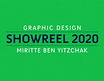 Graphic design showreel 2020