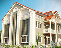 Villa résidentielle Blida par FOXNAS