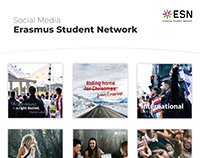 Social Media of Erasmus Student Network