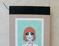 Recycled Mini Sketchbook