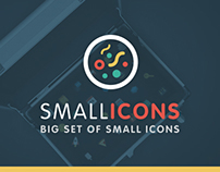 Smallicons — flat icons set.