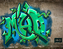 MHD - Graffiti Illustration