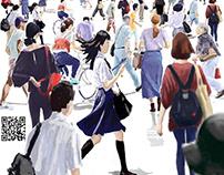 Japanese people Aug.2018