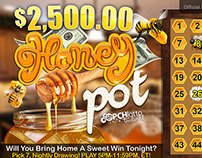 Lotto cards-Honey Pot