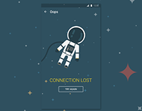 App Connection Lost Screen