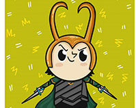 Loki from Thor & the Avengers