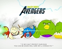 Angry  Birds AVENGERS Style