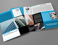 Company Brochure Bi-Fold Template Vol.9