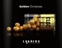 Graphic Design: Lakrids by Johan Bülow. Christmas 2013.