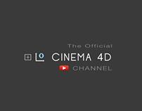 Fan video promoting Maxon Cinema 4D YouTube Channel
