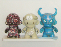 Tribal Series Vinyl Munny Toys